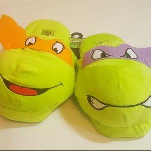 cheap for discount promo code fantastic savings Nickelodeon Other | Teenage Mutant Ninja Turtle Slippers | Poshmark